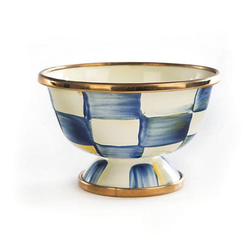 Royal Check Enamel Little Sugar Bowl