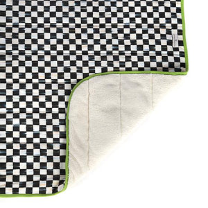 Courtly Check Dog Blanket - Large