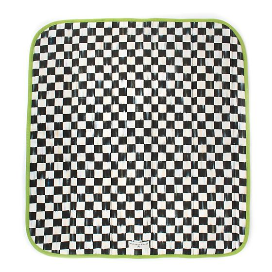 Courtly Check Dog Blanket - Small