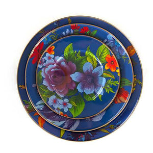 Flower Market Charger/Plate - Lapis