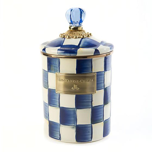Royal Check Canister - Medium
