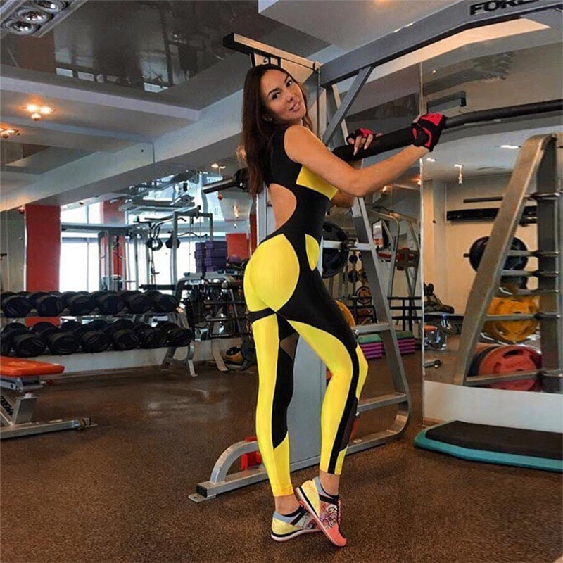 LEXI FITNESS YOGA SUIT MESH