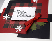 DIY Christmas Card Kit - Set of 4