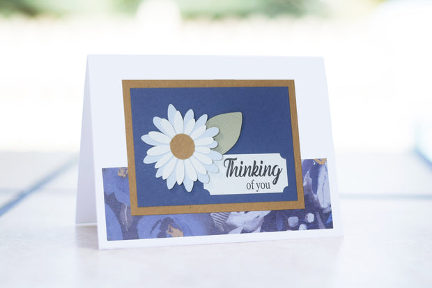 Thinking of you - Cornflower Blue Floral Collection