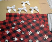 Buffalo Plaid Baby it's Cold Outside Christmas Card Kit - Set of 5 or 10