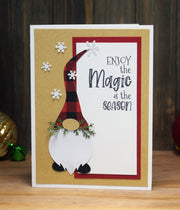 DIY Ho Ho Ho Gnome Christmas Card Kit