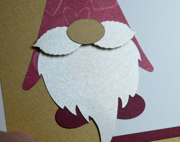 Gnome Valentine's Day Card