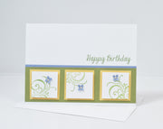 DIY Handmade Birthday Cards - Set of 5