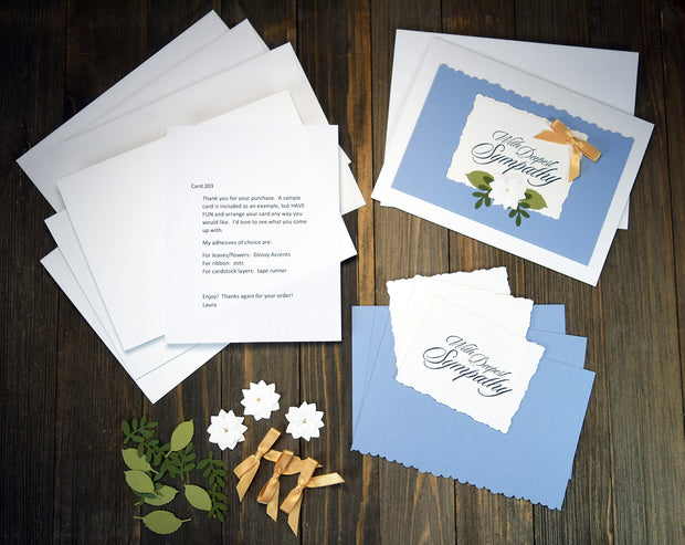 Handmade Sympathy Card Kit