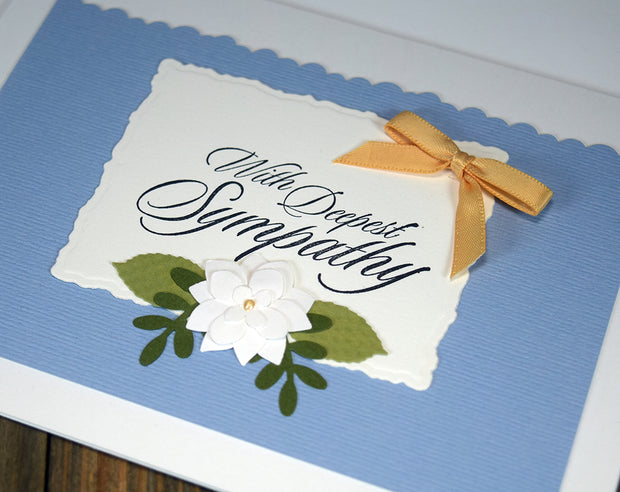 Handmade Sympathy Card Kit - Set of 4