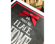 DIY Handmade Home for the Holidays Greeting Card Kit - Set of 5