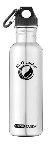 ECOtanka sportsTANKA Stainless Steel with Poly Loop Lid and Carabiner 800ml