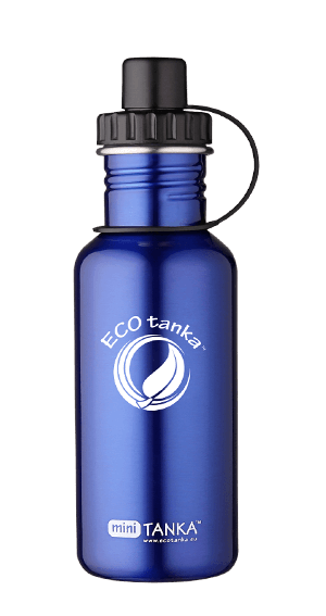 ECOtanka miniTANKA Blue with Sports Lid 600ml