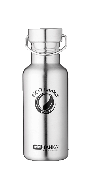 ECOtanka miniTANKA Stainless Steel with Steel Screw Lid 600ml
