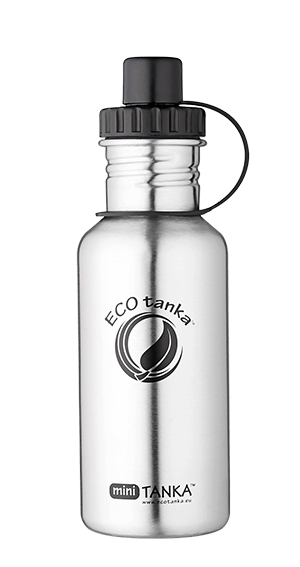 ECOtanka miniTANKA Stainless Steel with Sports Lid 600ml