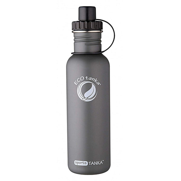 ECOtanka sportsTANKA Anthracite with Sports Lid 800ml