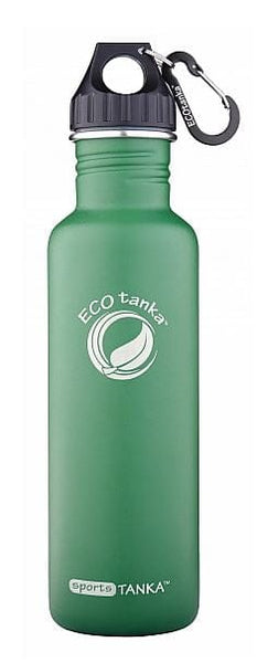 ECOtanka sportsTANKA Retro Green with Poly Loop Lid & Carabiner 800ml