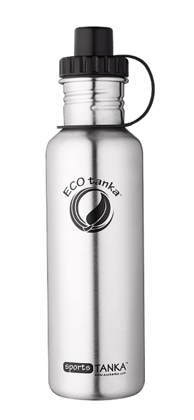 ECOtanka sportsTANKA Stainless Steel with Sports Lid 800ml