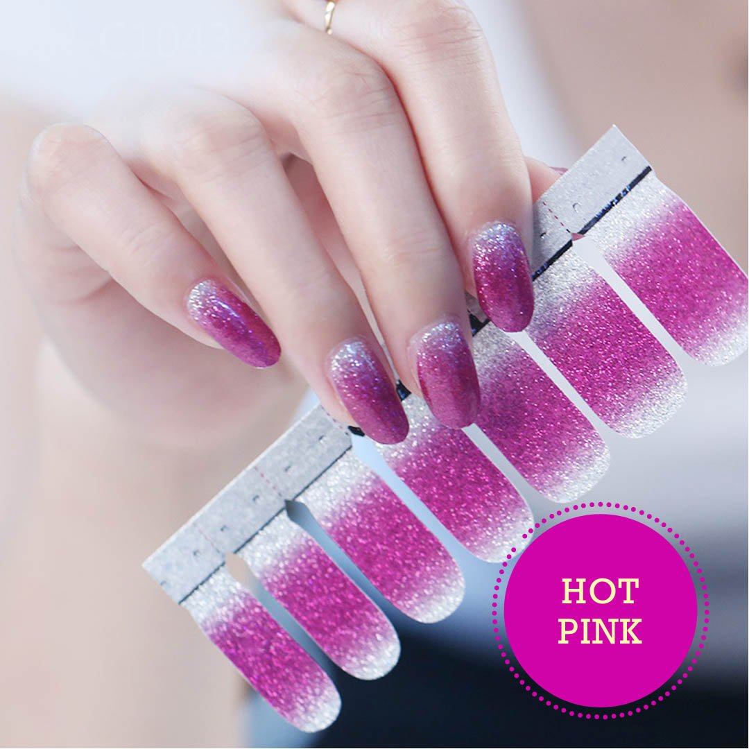 Shimmer Nail Art Stickers