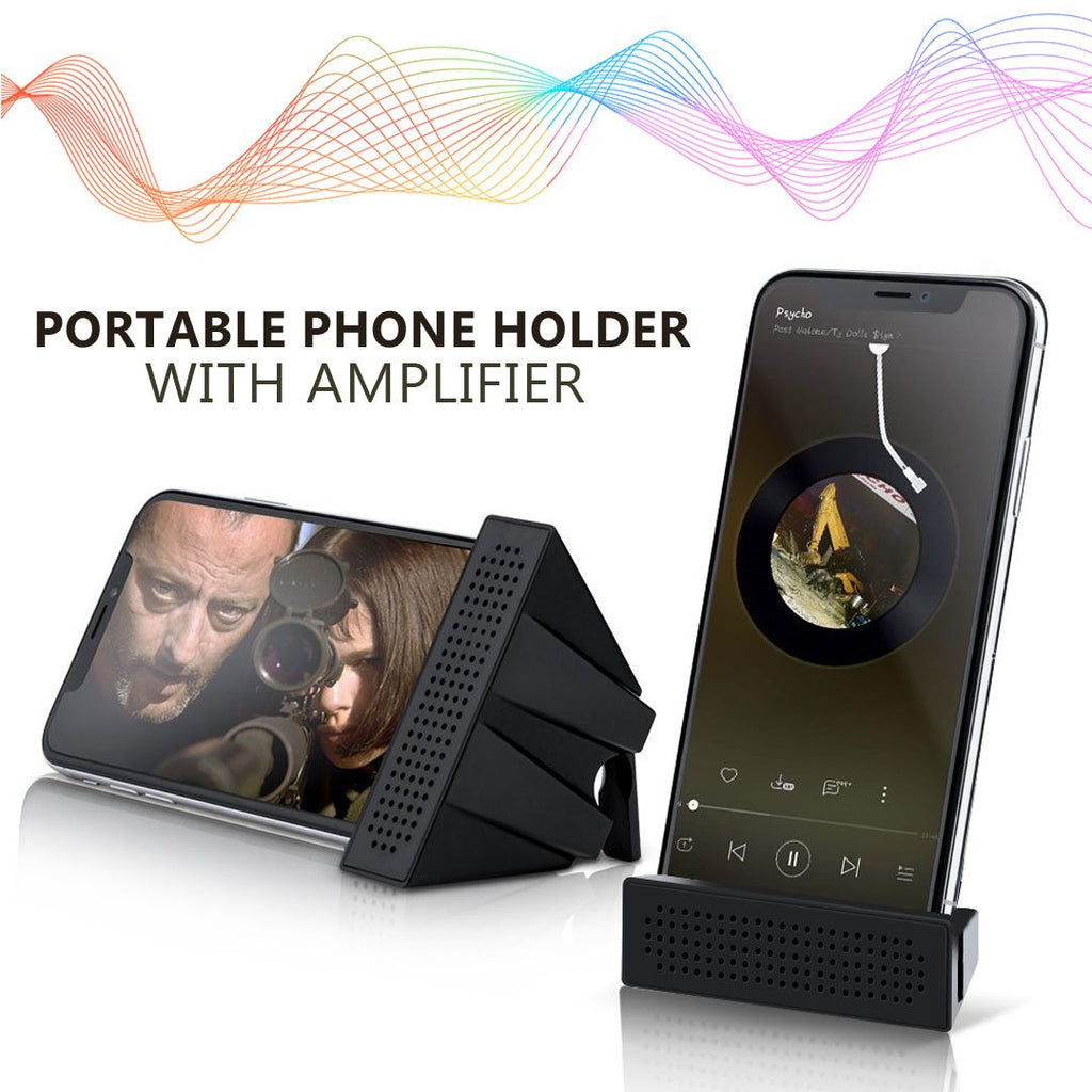 Portable Phone Amplifier & Stand