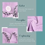 Women Microfibre Hair Towel