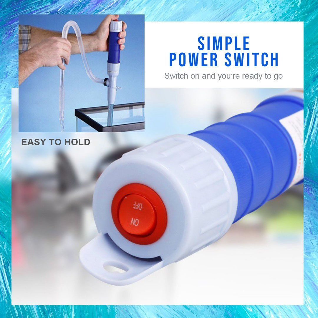 Battery-Operated Liquid Turbo Pump