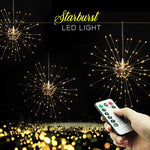 LED Starburst Lights with Remote Control