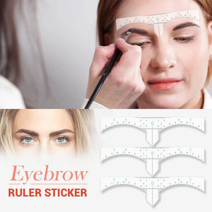 Eyebrow Shaping Ruler