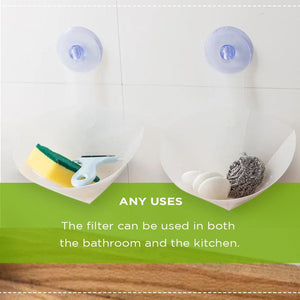 Collapsible Sink Filter