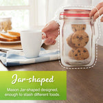 Mason Jar Ziplock Bag