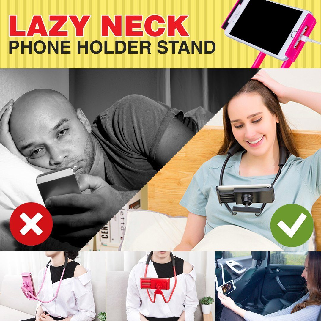 Lazy Neck Phone Holder Stand