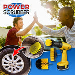 Power Scrubber Brush Set (3pc in 1 set)