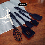 5pcs Silicone Cooking Tool Set