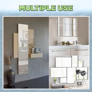 9/16pcs Mirror Wall Stickers