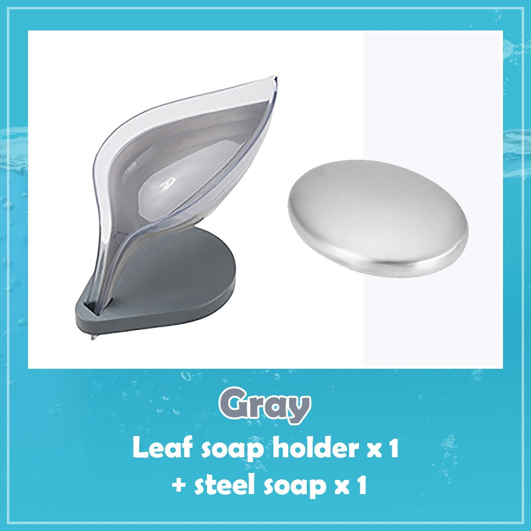 Simple Leaf Shape Soap Container