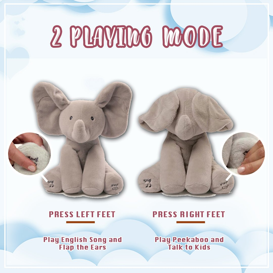 Peekaboo Animal Plush Toy