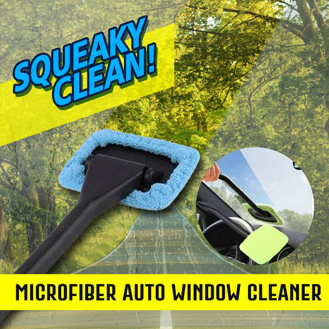 Microfiber Car Windshield Cleaner