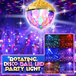 Rotating Disco Ball LED Party Light