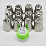 Christmas Pastry Nozzle Set