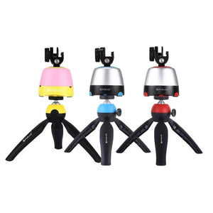 Bluetooth Rotating Panoramic Tripod Head