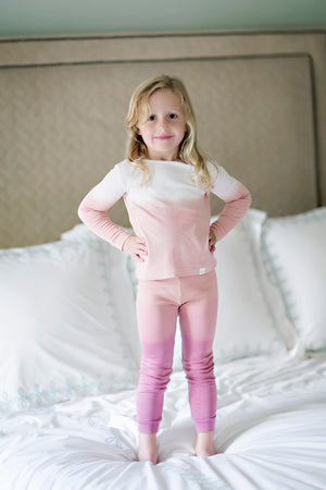 Leena & Lu Pima Girls Loungewear Set