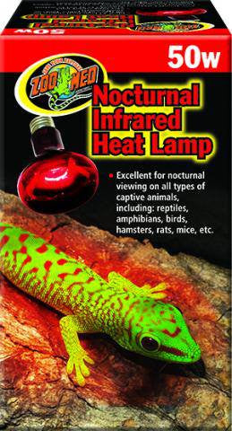 Zoo Med nocturnal infrared heat 50w