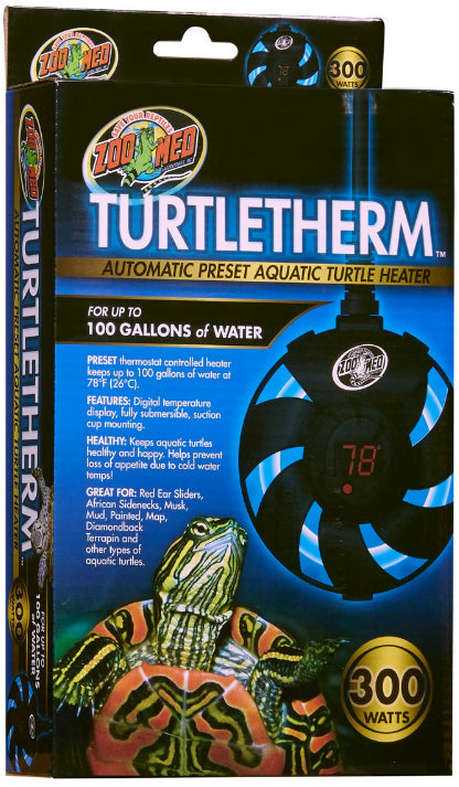 ZOOMED TURTLE THERM ( CALENTADOR PARA AGUA ) 300 WATT