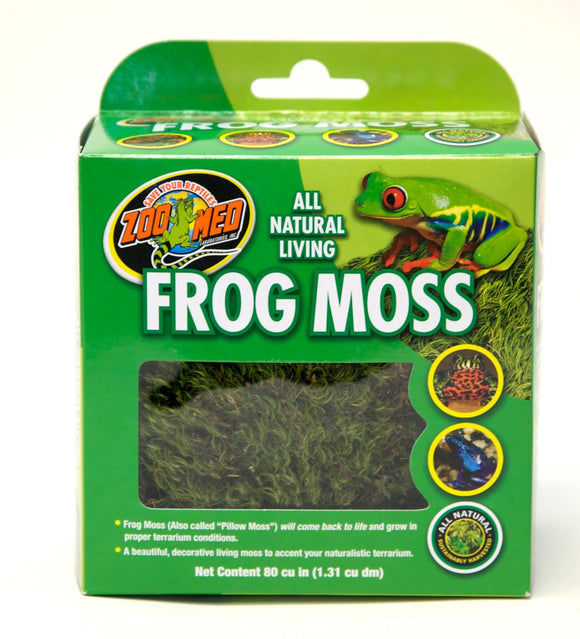 Zoo med frog moss