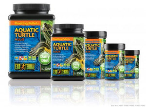EXOTERRA PELLETS ADULT AQUATIC TURTLE FOOD 8.8 OZ