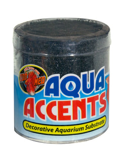 ZOOMED AQUA ACCENTS MIDNIGHT BLACK SAND