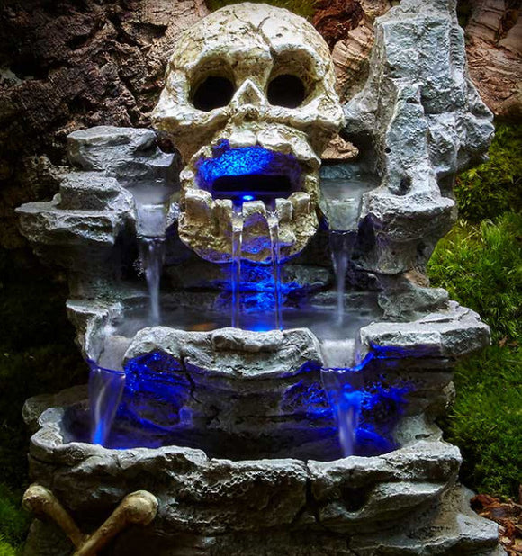 ZOOMED REPTIRAPIDS LED WATERFALL SMALL SKULL ( CASCADA LED)