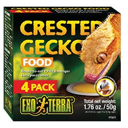 EXOTERRA CRESTED GECKO FOOD 4 PACK