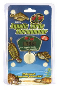 Zoo Med aquatic turtle digital thermometer (Termometro digital acuatico para tortugas)