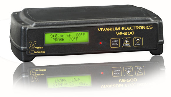VIVARIUM ELECTRONICS TERMOSTATO VE-200